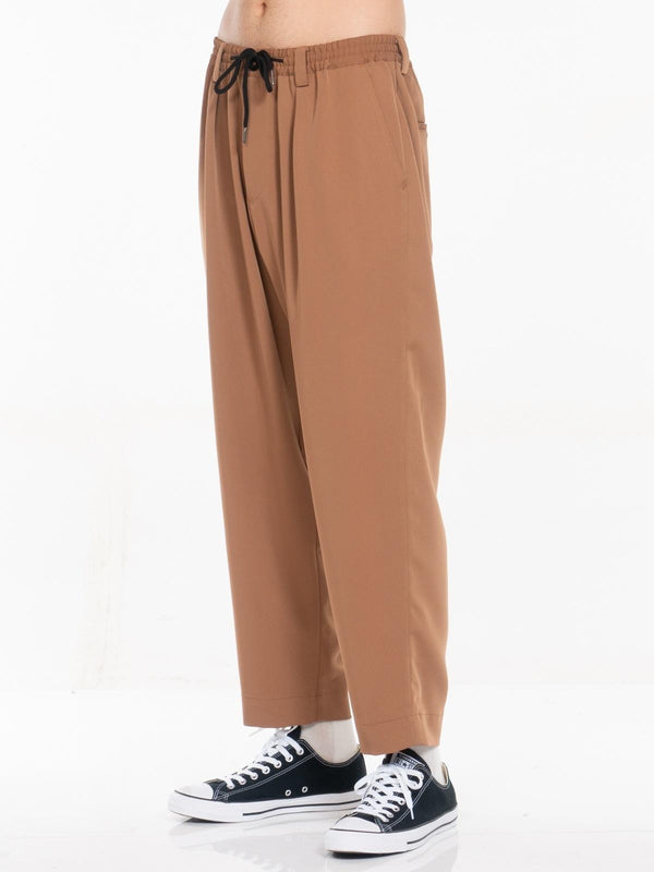 Henderson Pleated Elastic Waist Trouser, , Clothing, Apparel - Drifter Industries