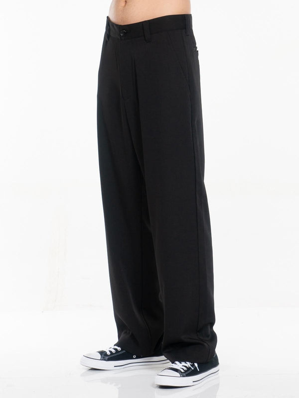 Deuce Classic Straight-Leg Uniform Trousers / Black, , Clothing, Apparel - Drifter Industries