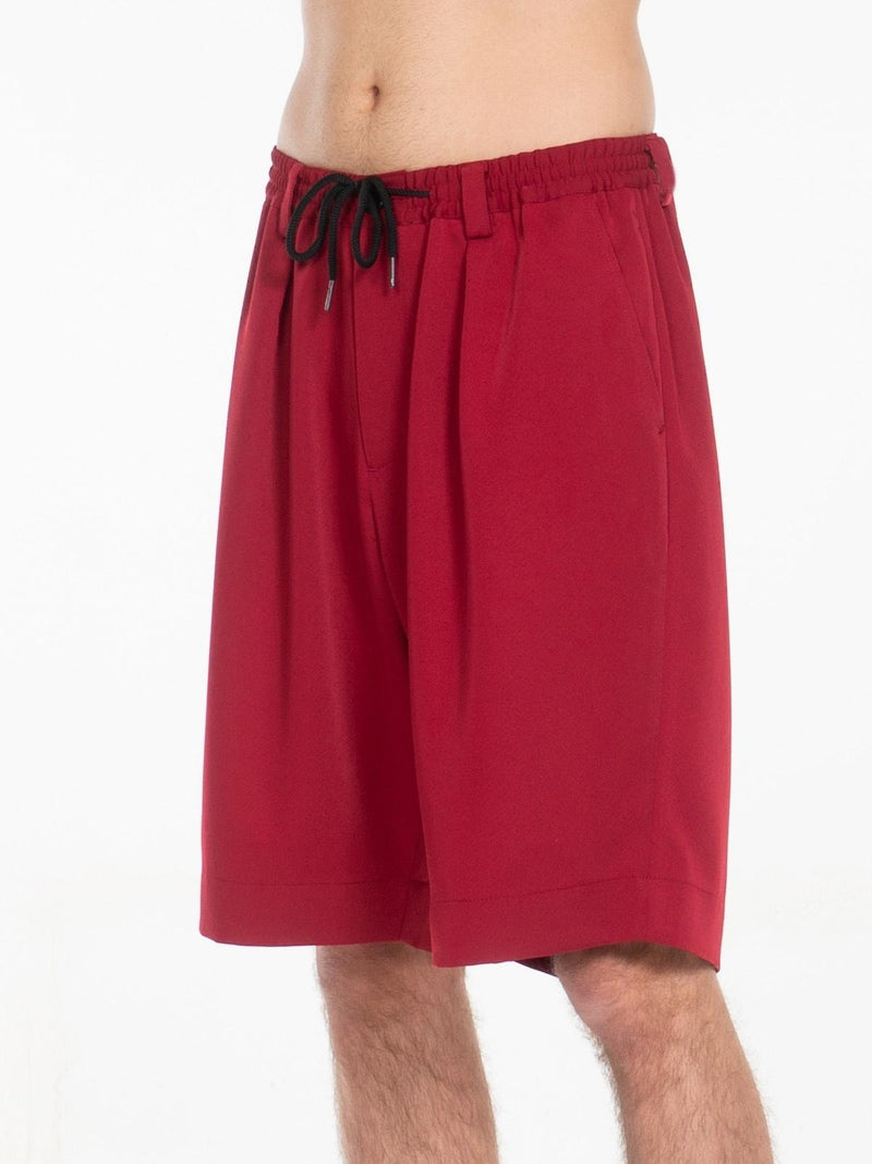 Laurie Trouser Shorts / Garnet