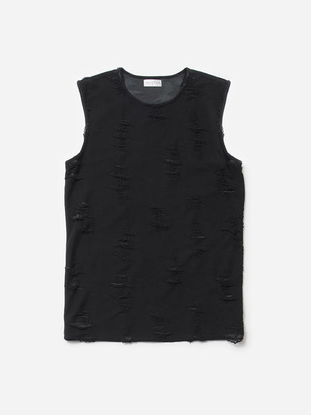Ben Shredded Tank / Black