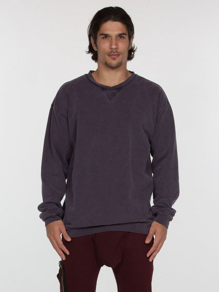 Bolton Pullover / Blackberry, Men's, Clothing, Apparel - Drifter Industries