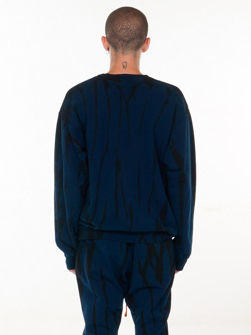 Circus Relaxed-fit Pullover / Navy, Men's, Clothing, Apparel - Drifter Industries