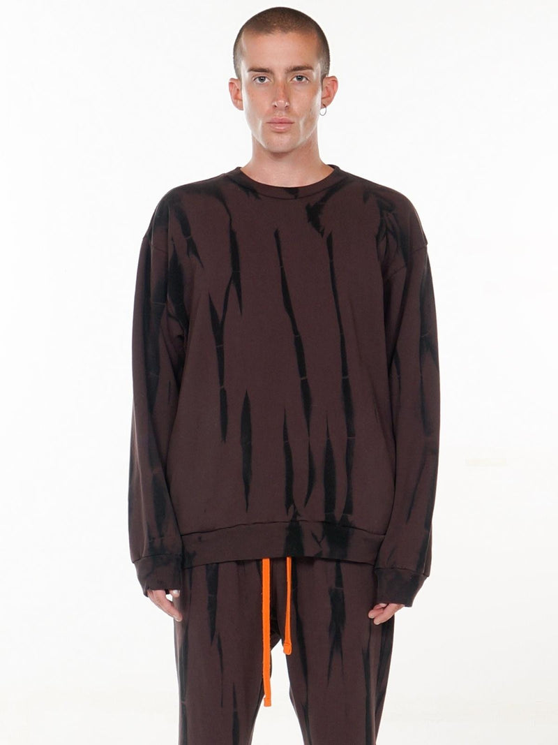 Circus Relaxed-fit Pullover / Brown, Men's, Clothing, Apparel - Drifter Industries