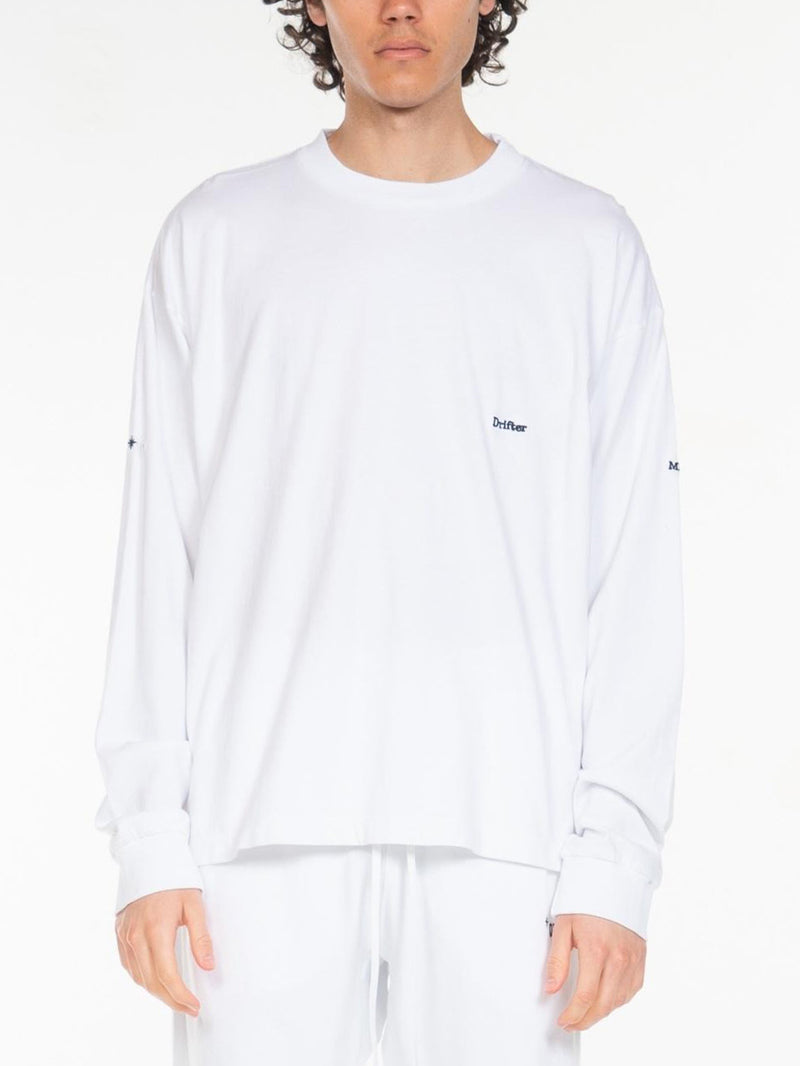 Wolfe Embroidery Long Sleeve Tee