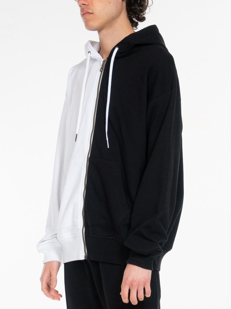 Blond Classic Zip-Up Hoodie / Black & White, , Clothing, Apparel - Drifter Industries