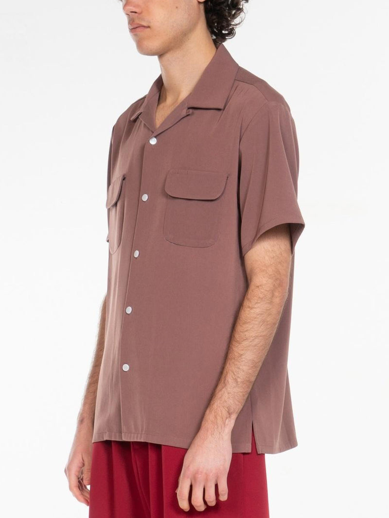 Fields Open Collar Shirts / Azuki, , Clothing, Apparel - Drifter Industries