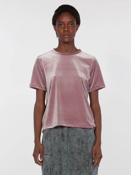 Peace Velvet Top / Mauve