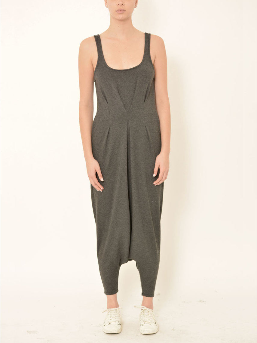 Piria Jumpsuit / Charcoal Heather