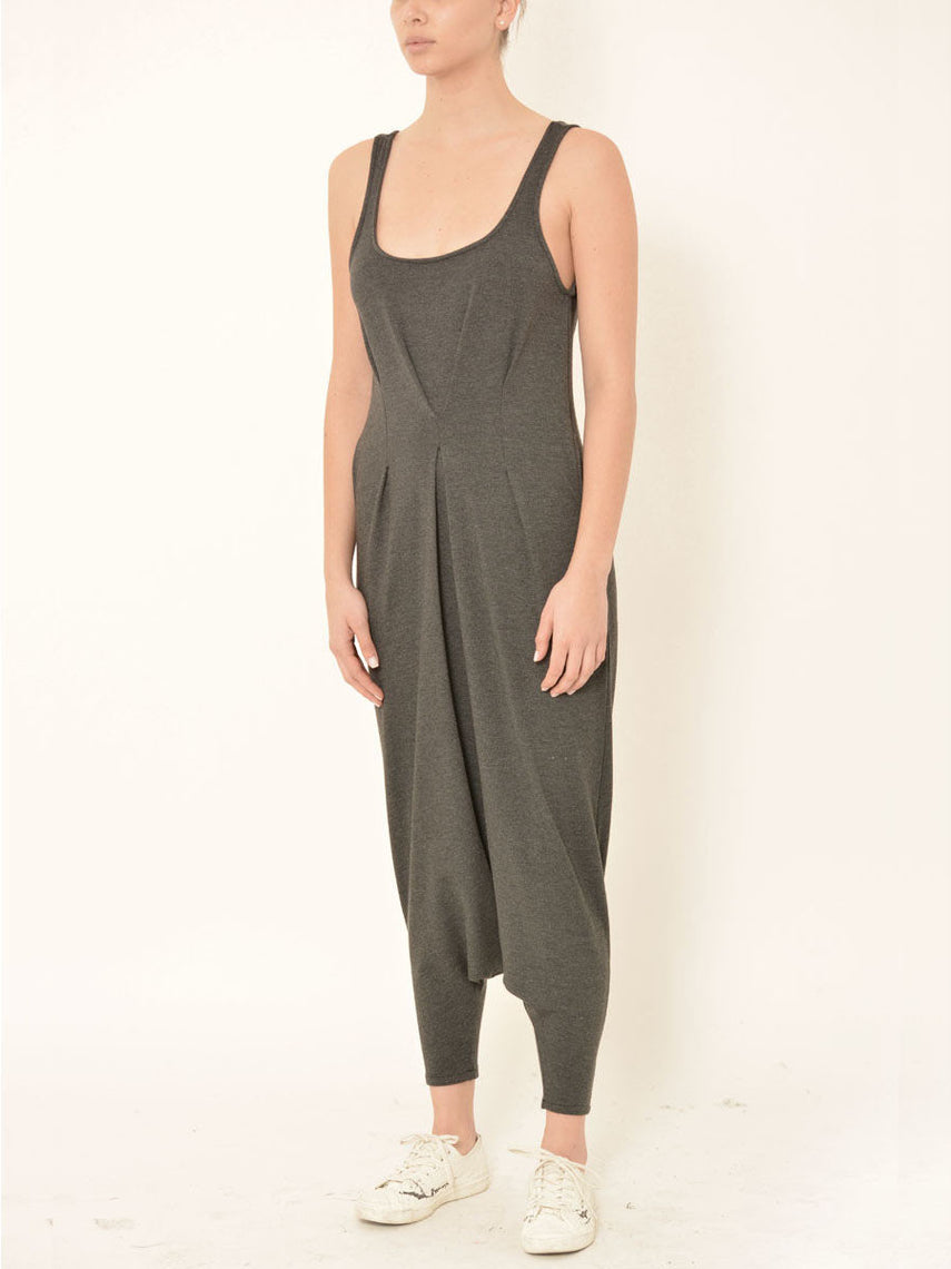 Piria Jumpsuit / Charcoal Heather, Women's, Clothing, Apparel - Drifter Industries