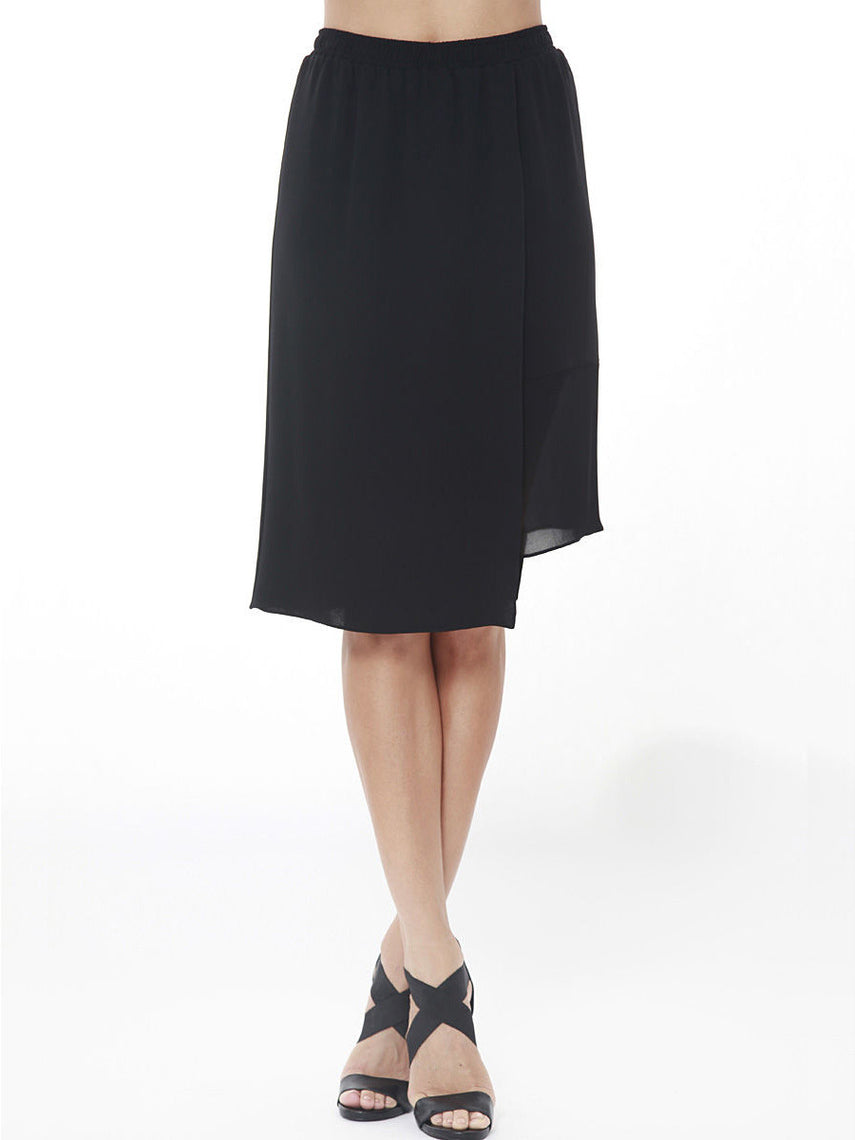 Quadrant Silk Skirt
