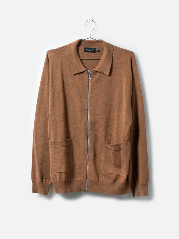 Tyrell Latte Cardigan, , Clothing, Apparel - Drifter Industries