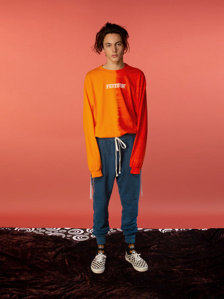 FW18 Atari Long Sleeve Tee / Orange