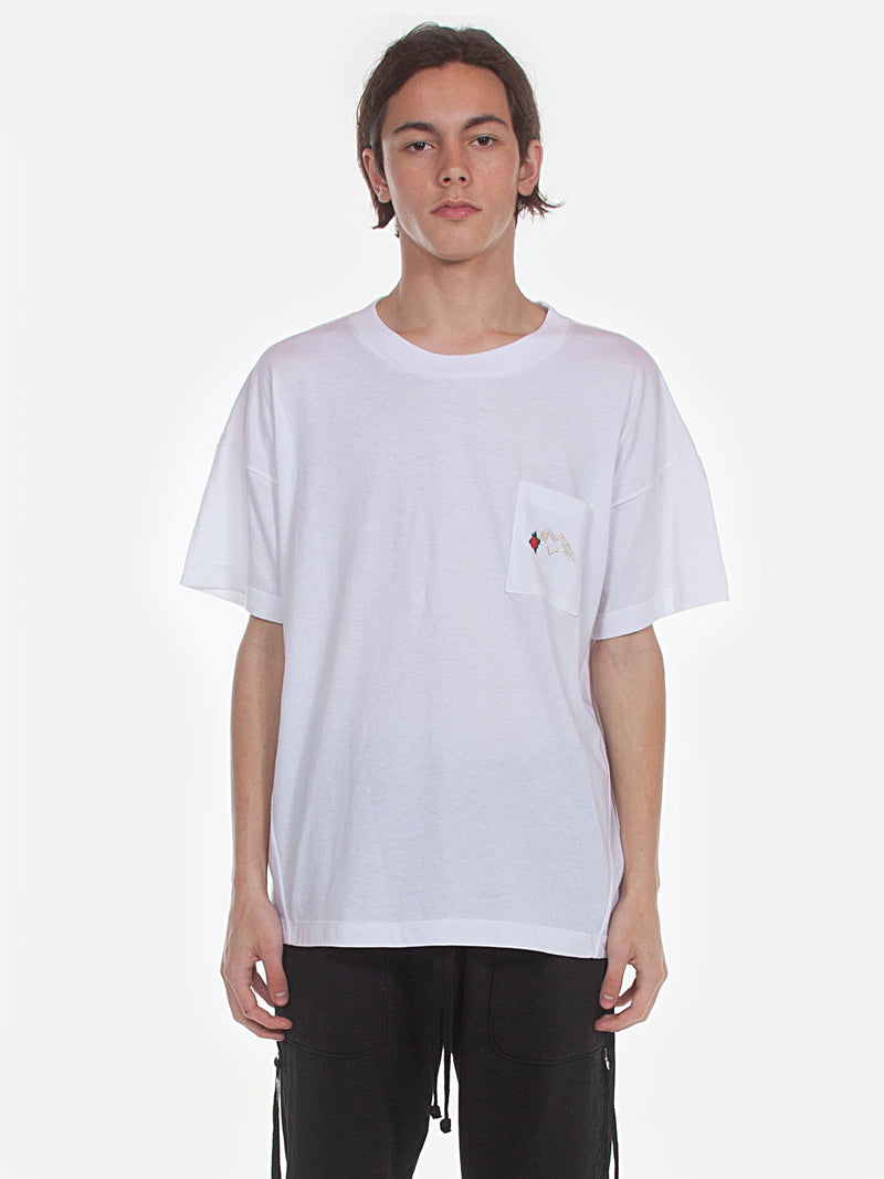 FW18 Hayes Pocket T-Shirt / White