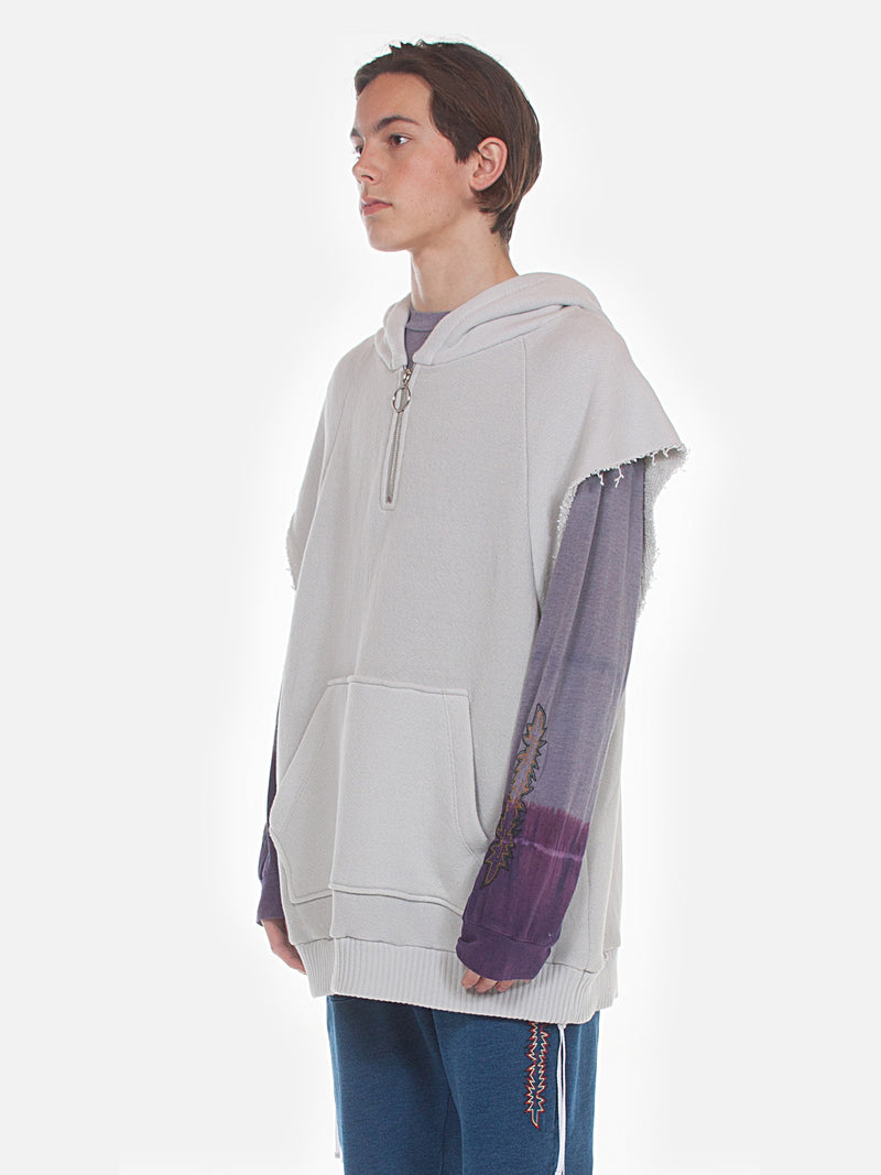 Warwick Half Zip Parka / Ivory, , Clothing, Apparel - Drifter Industries