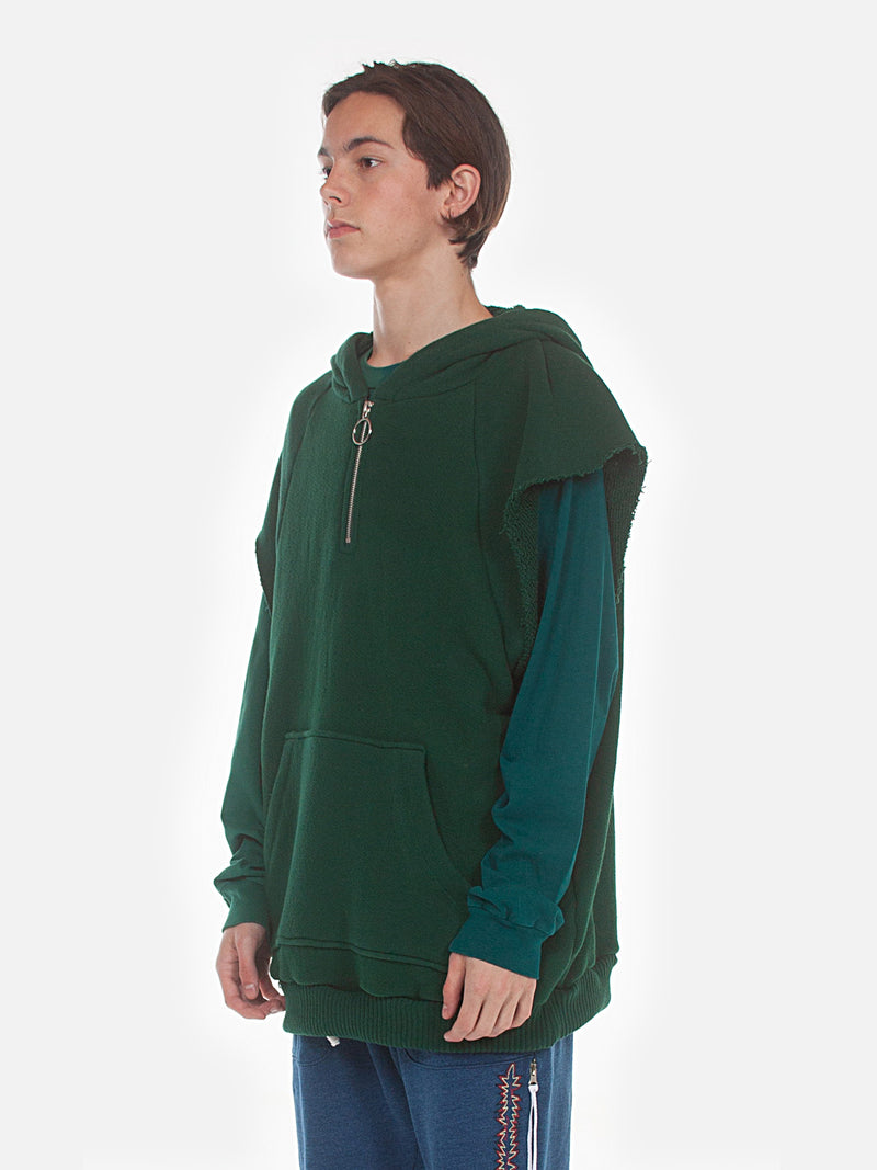 Warwick Half Zip Parka / Green, , Clothing, Apparel - Drifter Industries