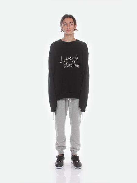 FW18 Love is the Drug Sweatshirt / Black