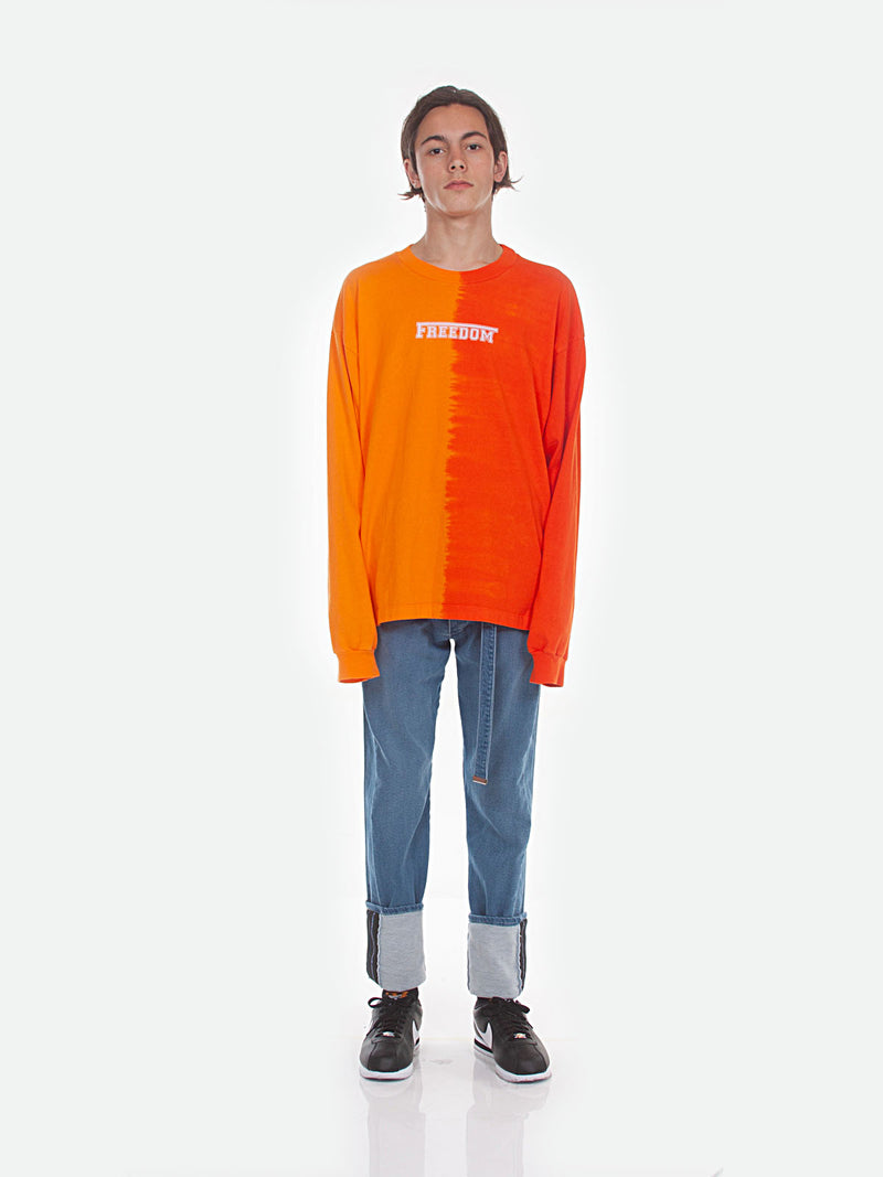 FW18 Atari Long Sleeve T-Shirt / Orange