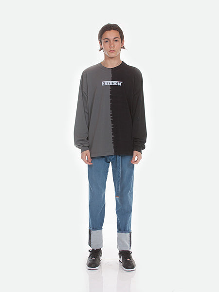 FW18 Atari Long Sleeve Tee / Black x Grey