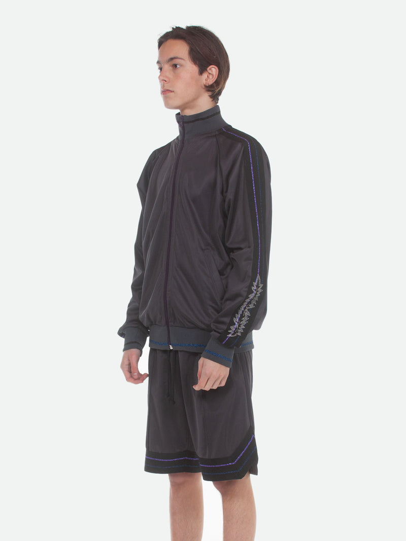 Commodore Track Jacket / Charcoal, Men's, Clothing, Apparel - Drifter Industries