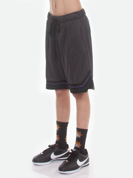 FW18 Boogie Basketball Shorts / Charcoal
