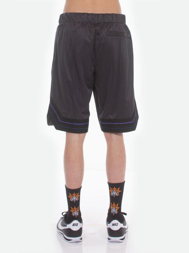 FW18 Boogie Basketball Shorts / Charcoal, Men's, Clothing, Apparel - Drifter Industries
