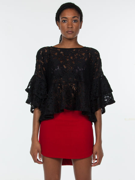 Katt Lace Top / Black