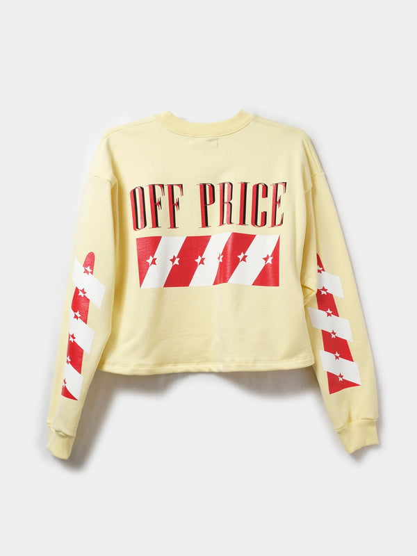 OFF-PRICE CROP PULLOVER / Sunshine