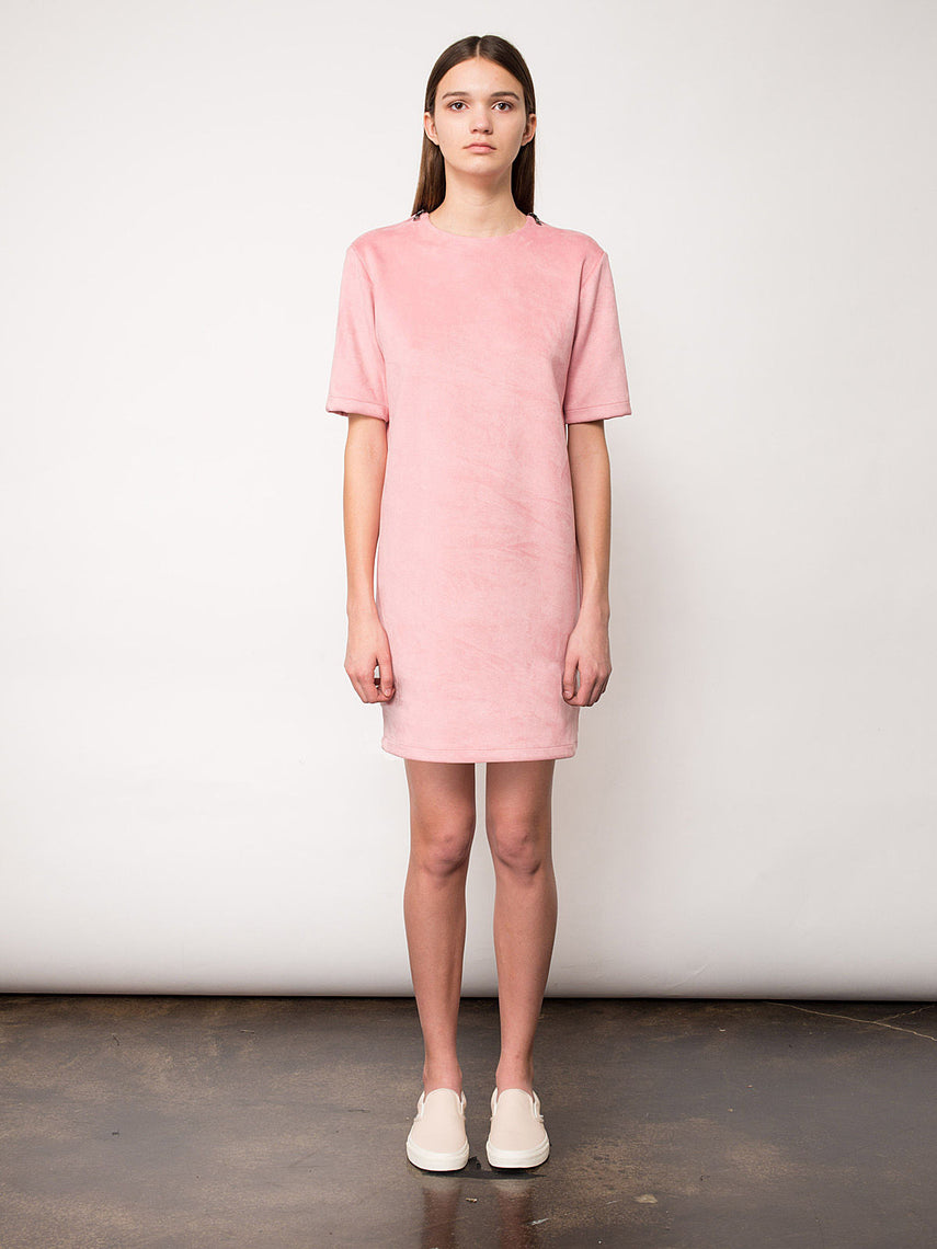 Lupine Mini Dress / Light Pink