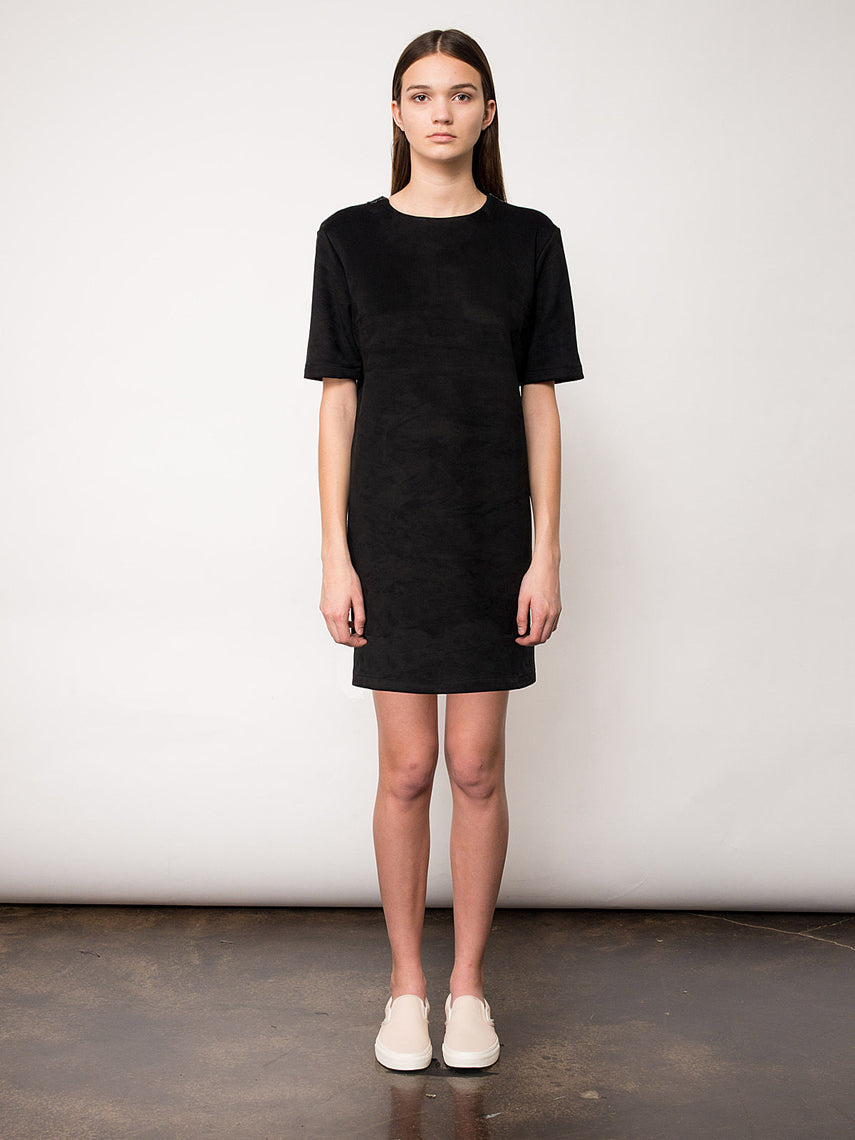 Lupine Mini Dress / Black