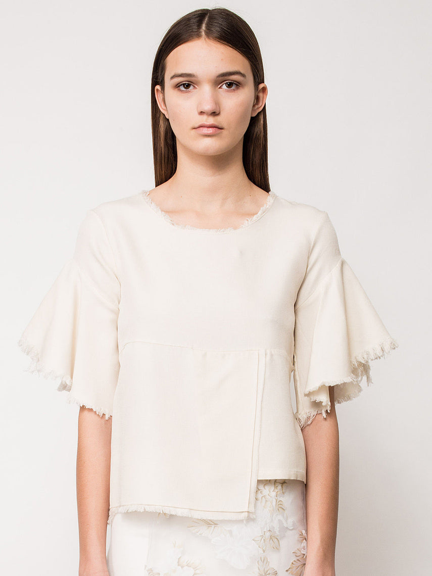 Lillian Paneled Top