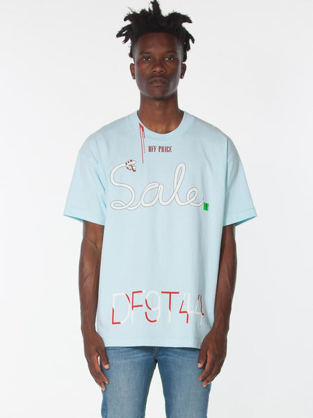 OFF-PRICE TEE / Pastel Blue