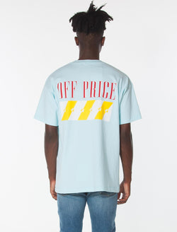 OFF-PRICE TEE / Pastel Blue, Men's, Clothing, Apparel - Drifter Industries