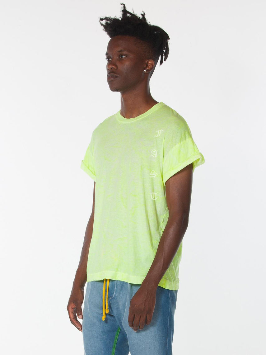 SS18 Abassi Top / Yellow Lava