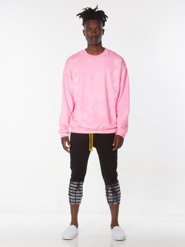 Yameyo Pullover / Pink Lava, Men's, Clothing, Apparel - Drifter Industries