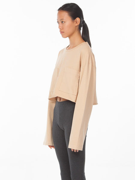 PS18 Rugua Top / Pale Peach