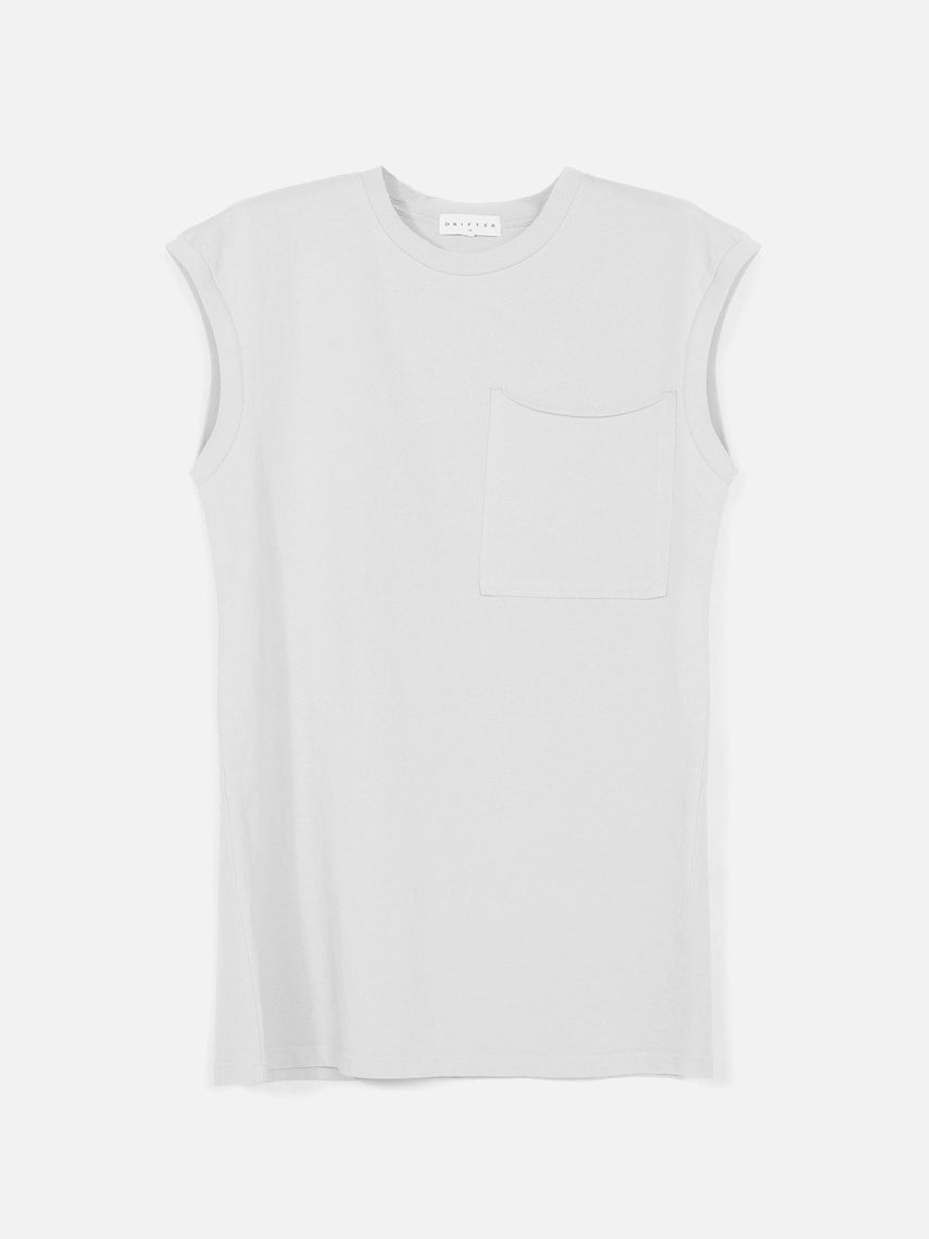 Novikov Tank Top / White, Men's, Clothing, Apparel - Drifter Industries