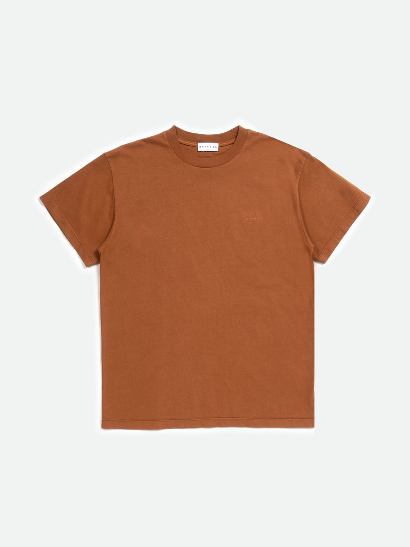 Ace Tee / Madder Brown, , Clothing, Apparel - Drifter Industries