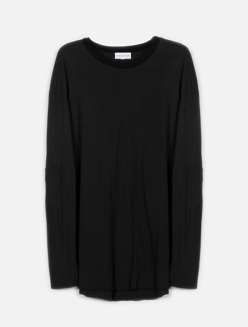 Meyer Long Sleeve Tee / Black
