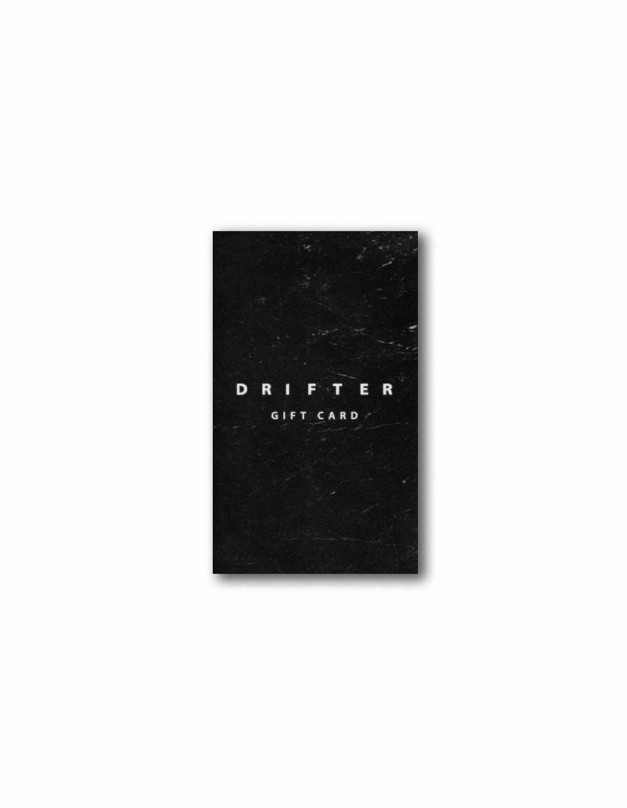 Drifter Gift card, Gift Card, Clothing, Apparel - Drifter Industries