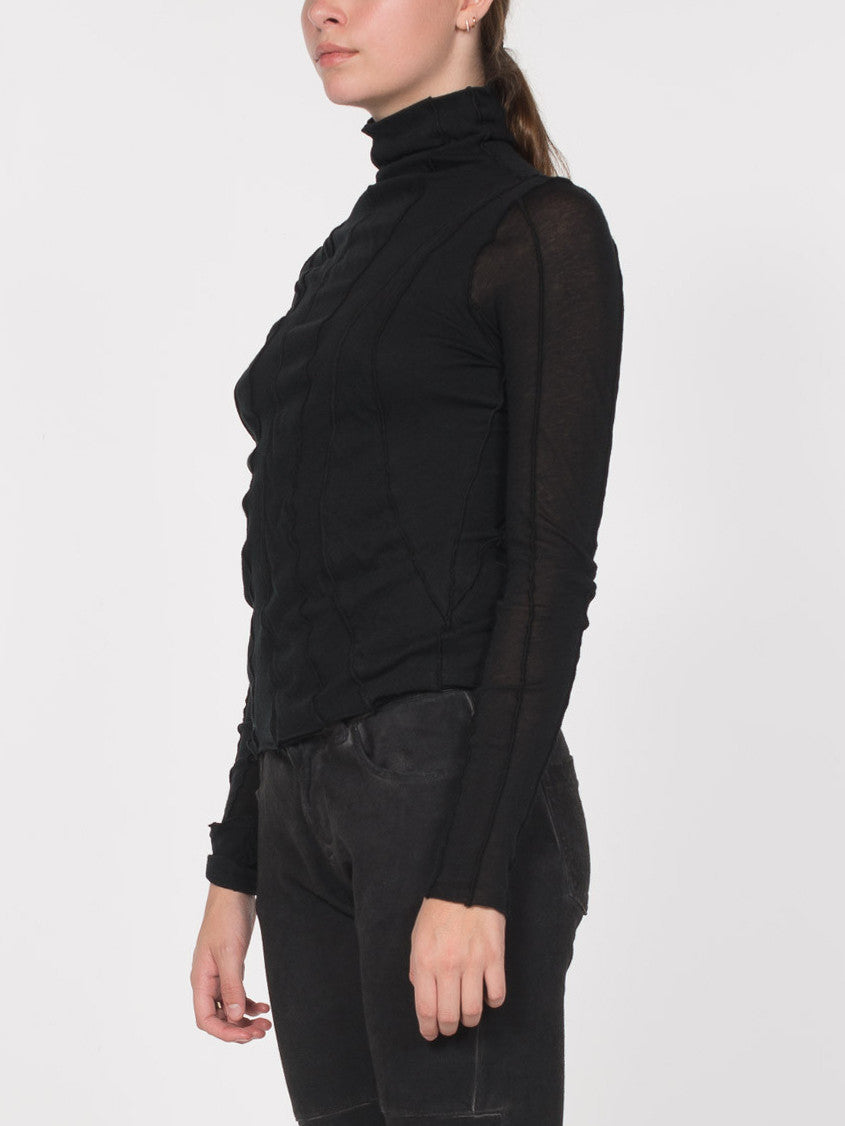 Emma Turtleneck Paneled Top, Women's, Clothing, Apparel - Drifter Industries