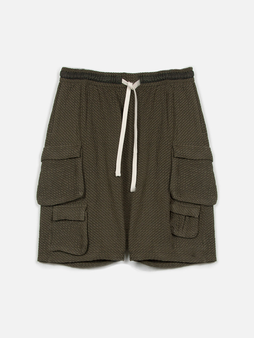 Enforce Cargo Shorts / Dark Army, Men's, Clothing, Apparel - Drifter Industries