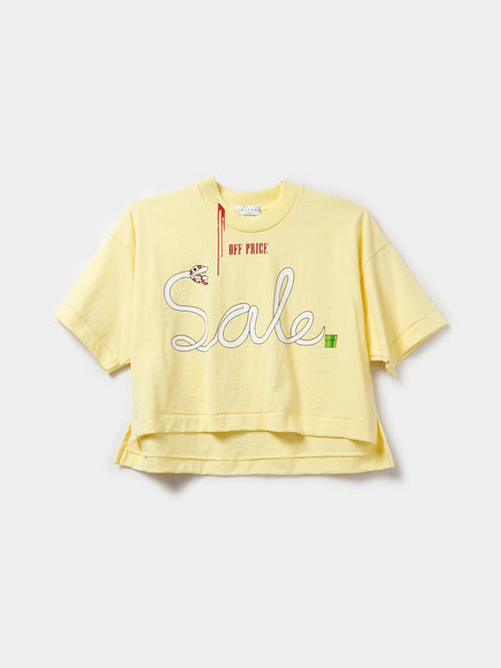 OFF-PRICE CROP TOP / Sunshine