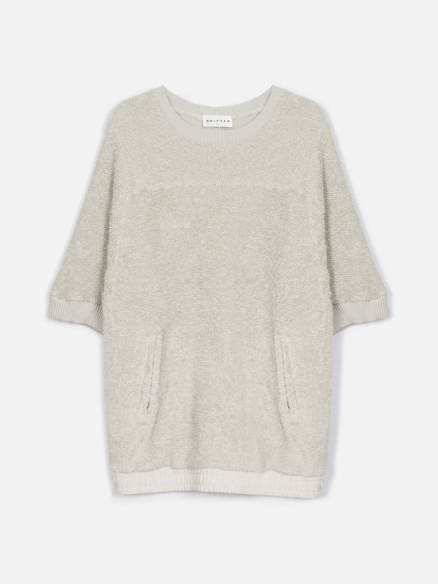 Fable Relaxed Fit Pullover / Overcast