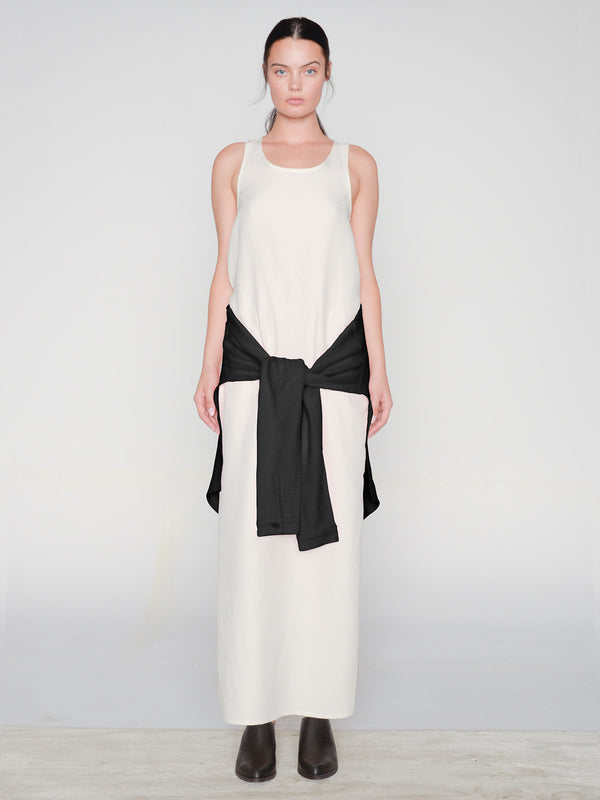 Saishu Maxi Dress / Ivory, Women's, Clothing, Apparel - Drifter Industries
