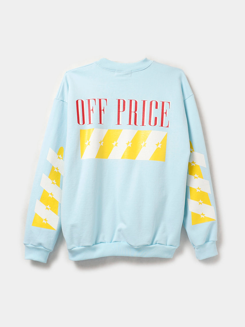 OFF-PRICE PULLOVER / Pastel Blue