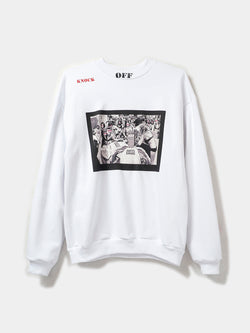 OFF-PRICE PULLOVER / White, Men's, Clothing, Apparel - Drifter Industries