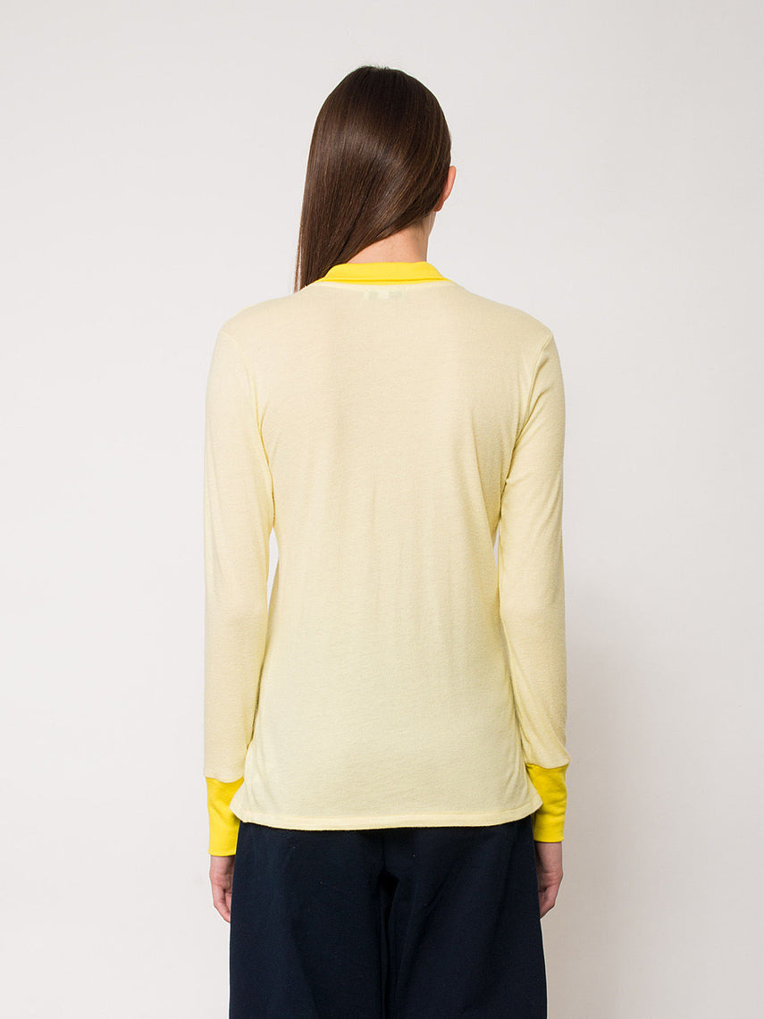 Viana Polo / Yellow, Women's, Clothing, Apparel - Drifter Industries