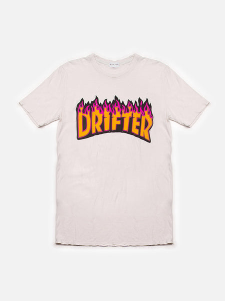 Drifter Fire Flame Tee, , Clothing, Apparel - Drifter Industries