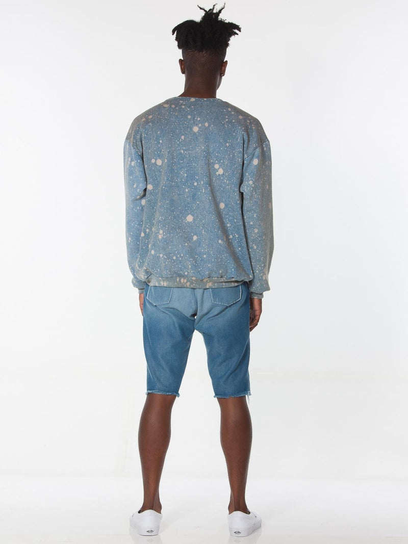 Yameyo Pullover / Indigo Splash, Men's, Clothing, Apparel - Drifter Industries