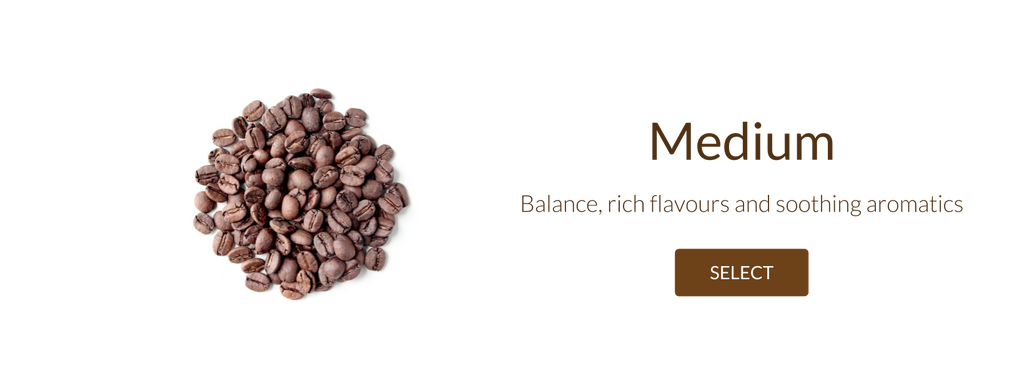 Filter medium roast coffee beans